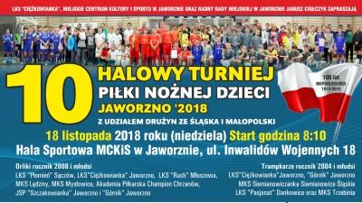 """Halowy turniej """" Jaworzno 2018"""""""