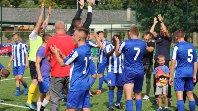 Seniorzy pokonali u siebie Jezioraka Szczecin 2:1 (1:0)