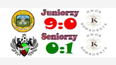 Ważne zwycięstwo seniorów i wysoka porażka juniorów