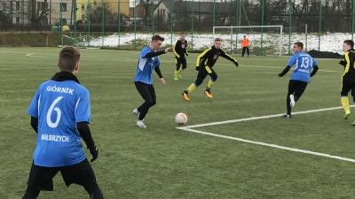 Juniorzy Unii rozegrali sparing z Górnikiem Wałbrzych wynik 1:5