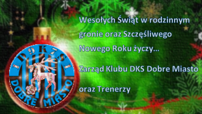 Życzenia świąteczne od DKS