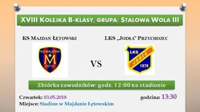 """KS Majdan Łętowswki vs. """"Jodła"""" Przychojec"""