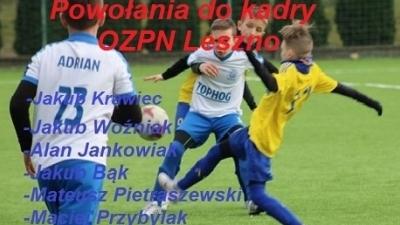 Powołania do kadry OZPN Leszno.