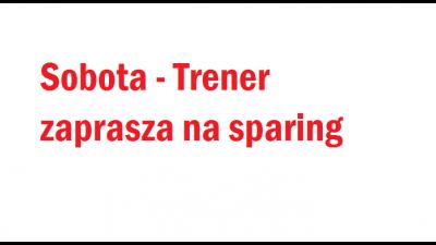Sobota - sparing