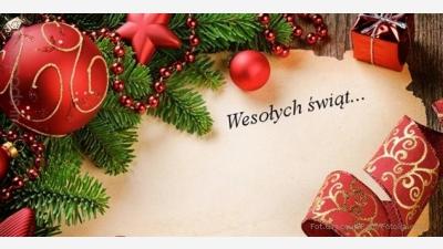 """Wesołych Świąt życzy LKS """"Wichura"""" Głębowice"""