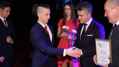 Bartosz Szymański Talentem Sportowym Powiatu Sandomierskiego