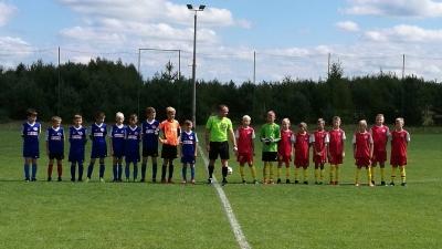 Pechowy początek rozgrywek drużyny Junior D2 - Luzino 18,08,2018