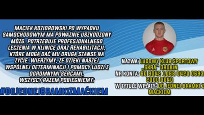 """Potrzebna pomoc dla byłego zawodnika - RUSZA AKCJA """"DO JEDNEJ BRAMKI Z MAĆKIEM"""""""