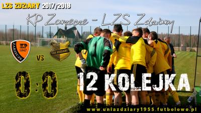 12 Kolejka: KP Zarzecze - LZS Zdziary 0:0.