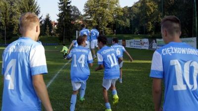 Wygrana i remis w pierwszych meczach juniorów Ciężkowianki