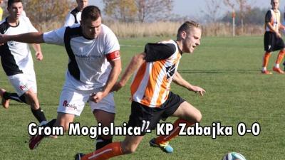 Grom Mogielnica - KP Zabajka 0-0