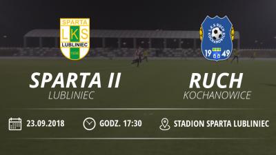 "LKS ""Sparta II"" Lubliniec vs Ruch Kochanowice"