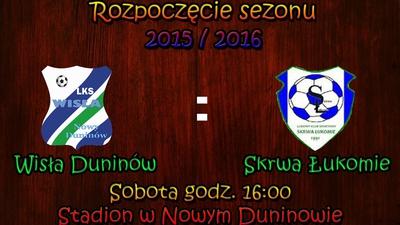 Sezon 2015/2016 czas zacząć