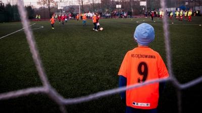 Młodzi zawodnicy rozegrali turniej piłkarski w Ciężkowicach
