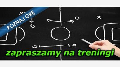 HARMONOGRAMY treningów zespołów Ciężkowianki