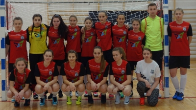 VIII miejsce na Międzynarodowym Turnieju Halowym w Piłce Nożnej Kobiet