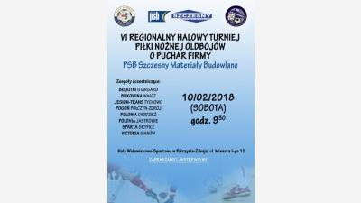 VI Regionalny Halowy Turniej Piłki Nożnej Oldbojów