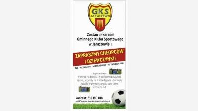 Zostań zawodnikiem GKS Jaraczewo