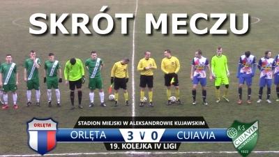 VIDEO: Skrót meczu Orlęta 3:0 Cuiavia Inowrocław