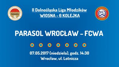 II DLM wiosna 2017 - 6 kolejka - Parasol Wrocław (07.05.2017)