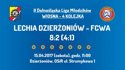 II DLM wiosna 2017 - 4 kolejka - Lechia Dzierżoniów (15.04.2017)
