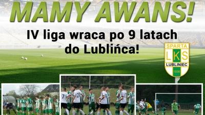 Seniorzy: Sparta Lubliniec 2:0 Pogoń Kamyk (1:0)