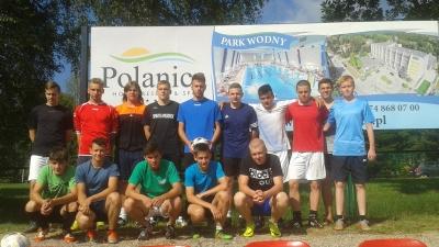 Zgrupowanie juniorów starszych Pogoni w Polanicy Zdroju