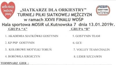 XXVII Finał WOŚP - PROGRAM
