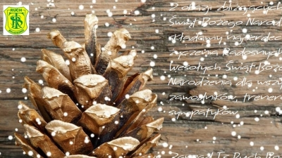 ŻYCZENIA BOŻONARODZENIOWE OD TS RUCH BOJANOWO
