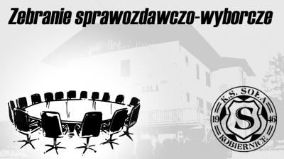 """Zebranie Klubu Sportowego """"SOŁA"""""""
