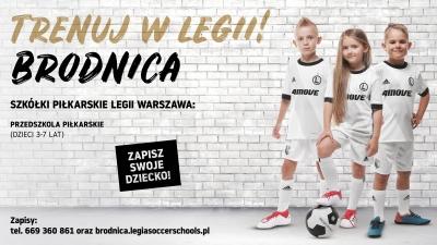 Wiosenny nabór do Legia Soccer Schools