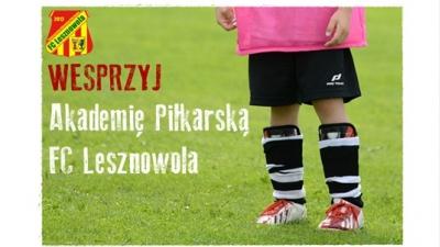Wesprzyj Akademię Piłkarską FC Lesznowola
