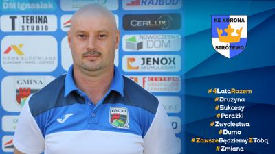 Marek Trzebny już nie jest trenerem Korony, dziękujemy za wszystko!