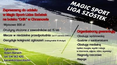 Zagraj w Magic Sport Lidze Szóstek!