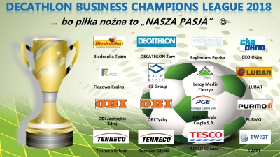 DECATHLON Business Champions League 2018 - ... komplet drużyn już mamy :-)