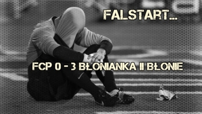 Falstart w pierwszym meczu nowego sezonu.