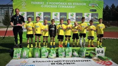 Finał Dolnośląski Pucharu Tymbarku rocznik 2010 - relacja