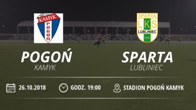 """LKS Pogoń Kamyk vs LKS """"Sparta"""" Lubliniec"""