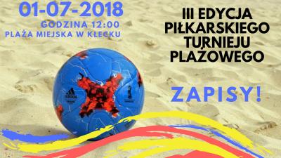 III Amatorski Turniej Piłki Nożnej Plażowej już 1 lipca!