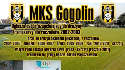 nabór MKS Gogolin