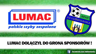 LUMAC - Wzmocnienie sponsorskie.