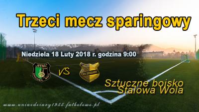 Sparingi Nr. 3 Stal Stalowa Wola (Juniorzy Młodsi) - LZS Zdziary.