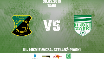 Zapowiedź: Górnik Piaski - Zieloni Żarki