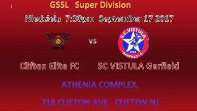 W II kolejce z Clifton Elite FC  !