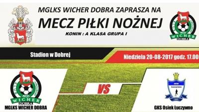 Terminarz Konińskiej Klasy A grupy 1 runda jesienna sezon 2017/2018.
