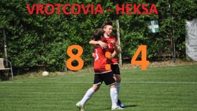 Zwycięstwo w meczu VROTCOVIA - HEKSA
