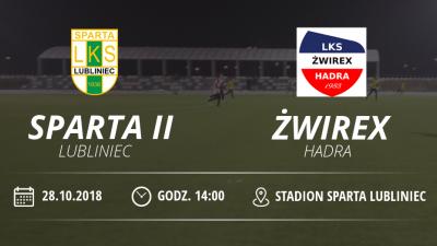 """LKS """"Sparta II """" Lubliniec vs LKS Żwirex Hadra"""