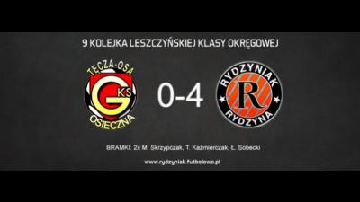 Wrócili na właściwe tory! 4P4S Rydzyniak pewnie wygrywa w Osiecznej.