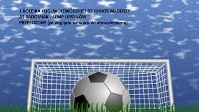 I liga wojewódzka  B2 Junior młodszy