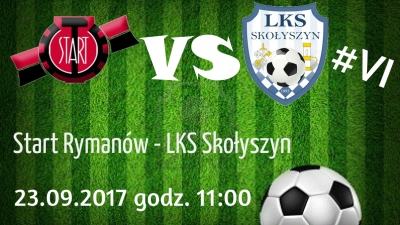#6 Kolejka: Start Rymanów - LKS Skołyszyn